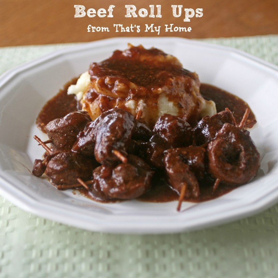 Beef Roll Ups Recipes Food And Cooking
