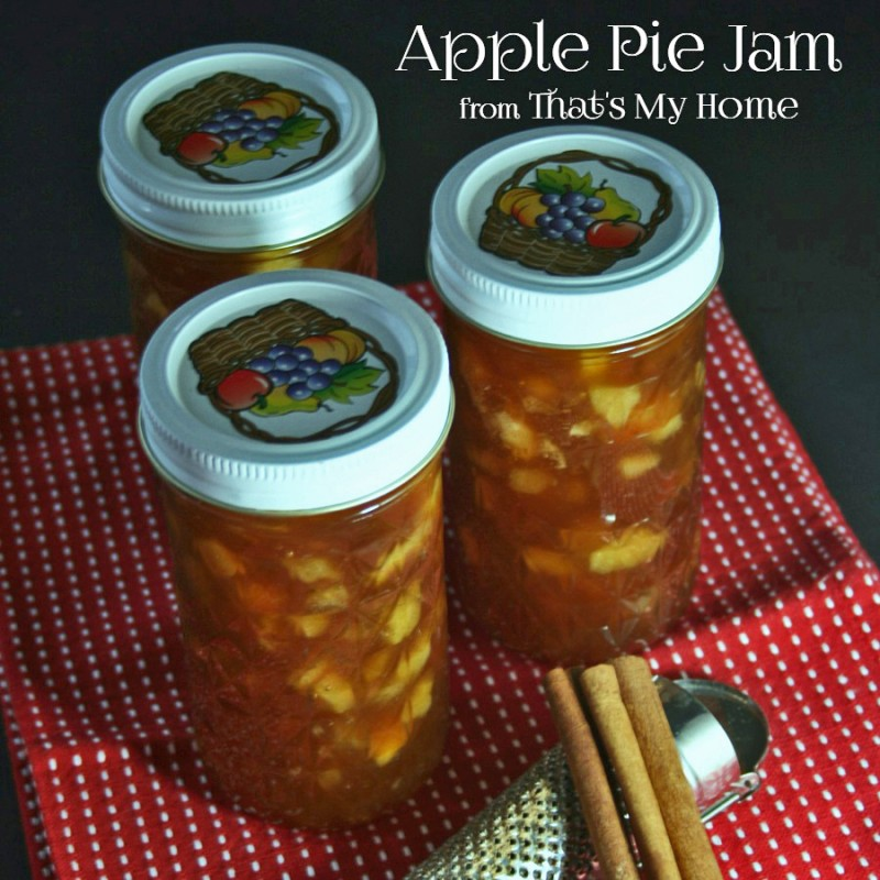 Apple Pie Jam from That's My Home