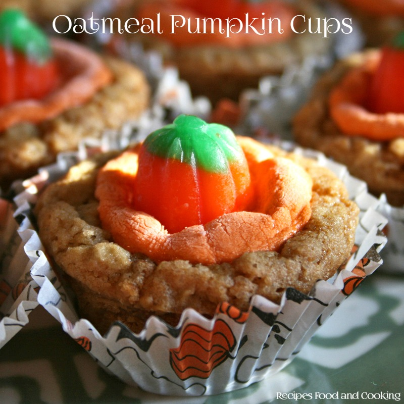 Oatmeal Pumpkin Cups