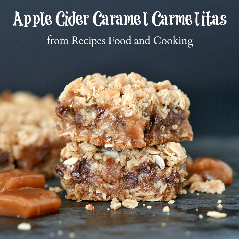 Apple Cider Caramel Carmelitas