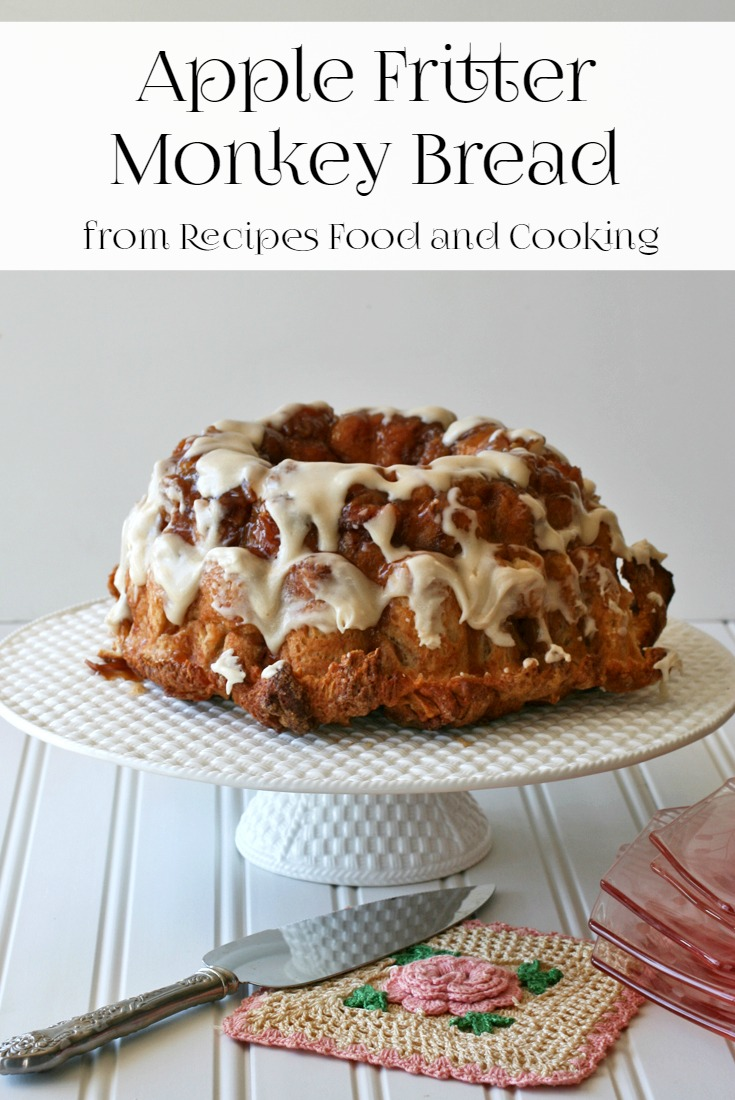 Apple Fritter Monkey Bread Recipes Food And Cooking