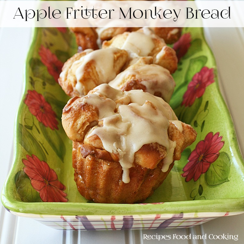 Apple Fritter Monkey Bread