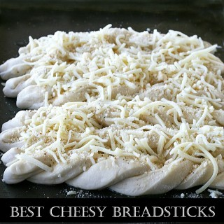 Cheesy Twisted Breadsticks