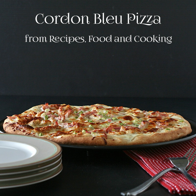 Cordon Bleu Pizza