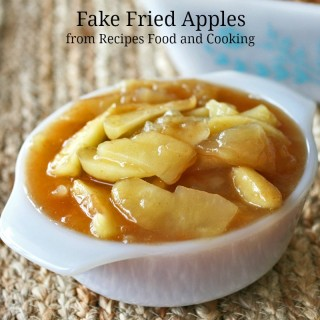Fake Fried Apples
