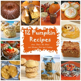 Pumpkin Recipes Round Up