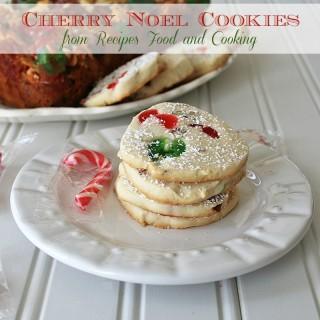 Cherry Noel Cookies