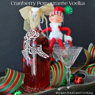 Cranberry Pomegrante Vodka