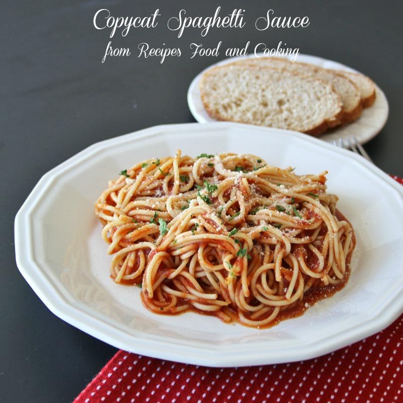 Spaghetti Sauce Recipe Copycat Spaghetti Sauce
