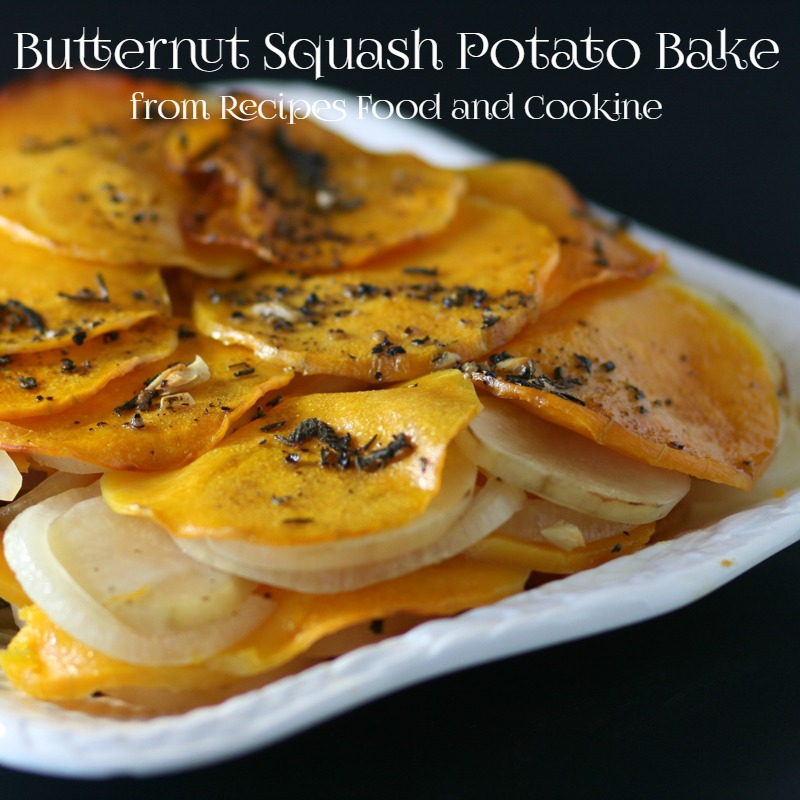 Butternut Squash Potato Bake