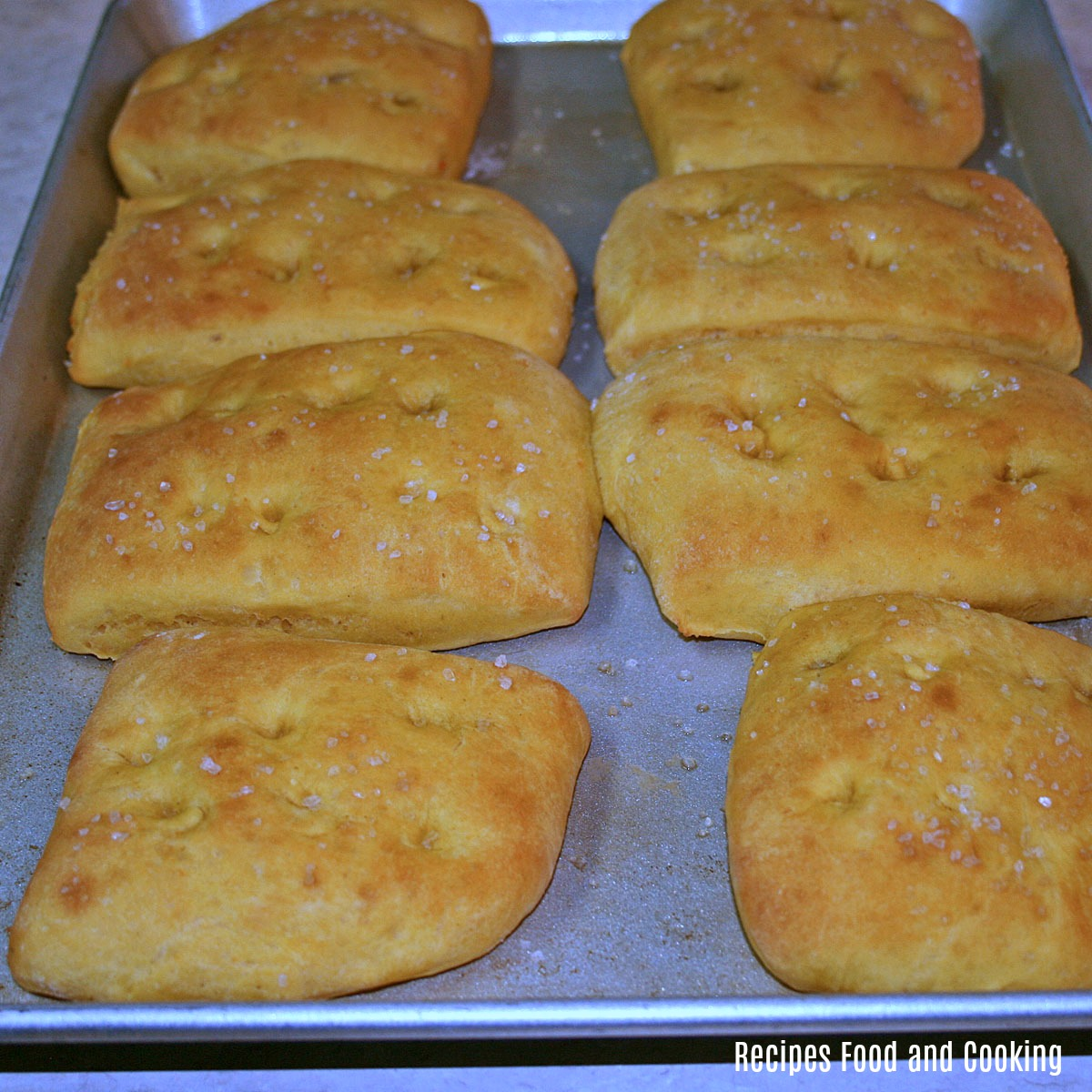 Sweet Potato Focaccia