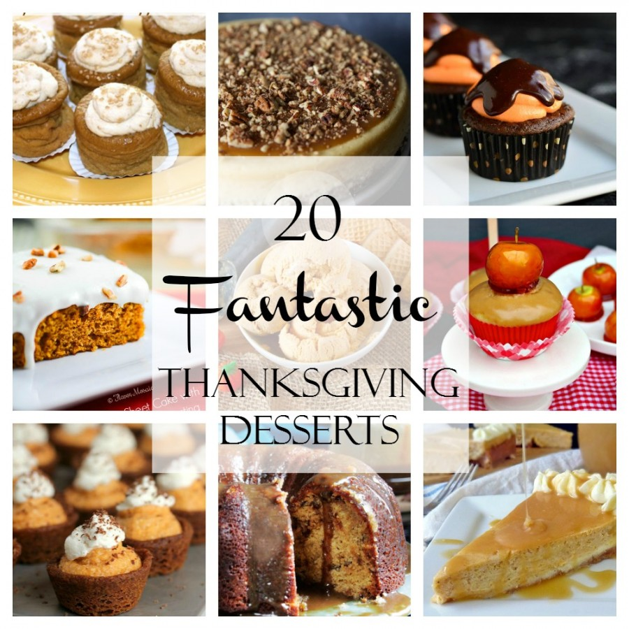 20 Thanksgiving Desserts Recipes Food And Cooking