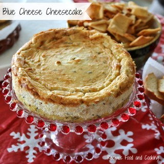 Blue Cheese Cheesecake