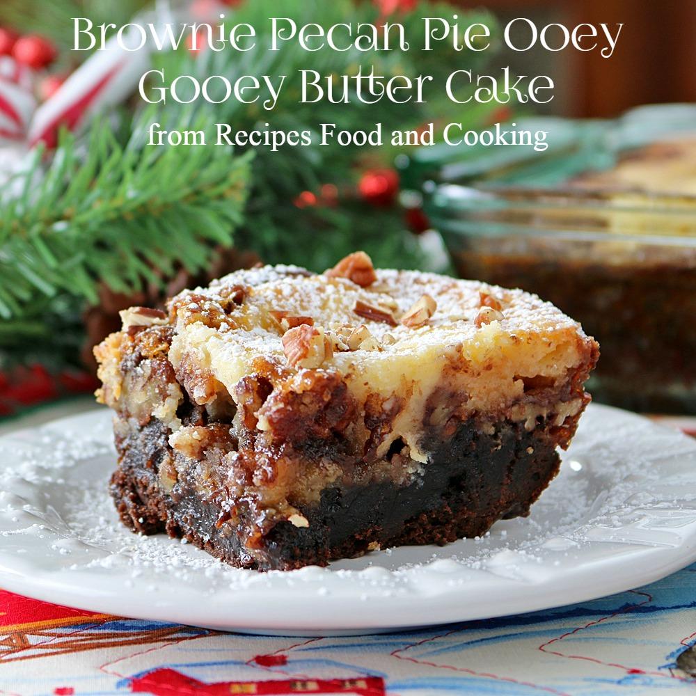 Pecan Pie Cake With Yellow Cake Mix
