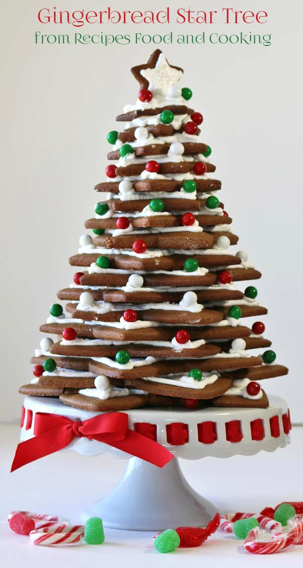 Gingerbread Christmas Tree - Recipes Food and Cooking