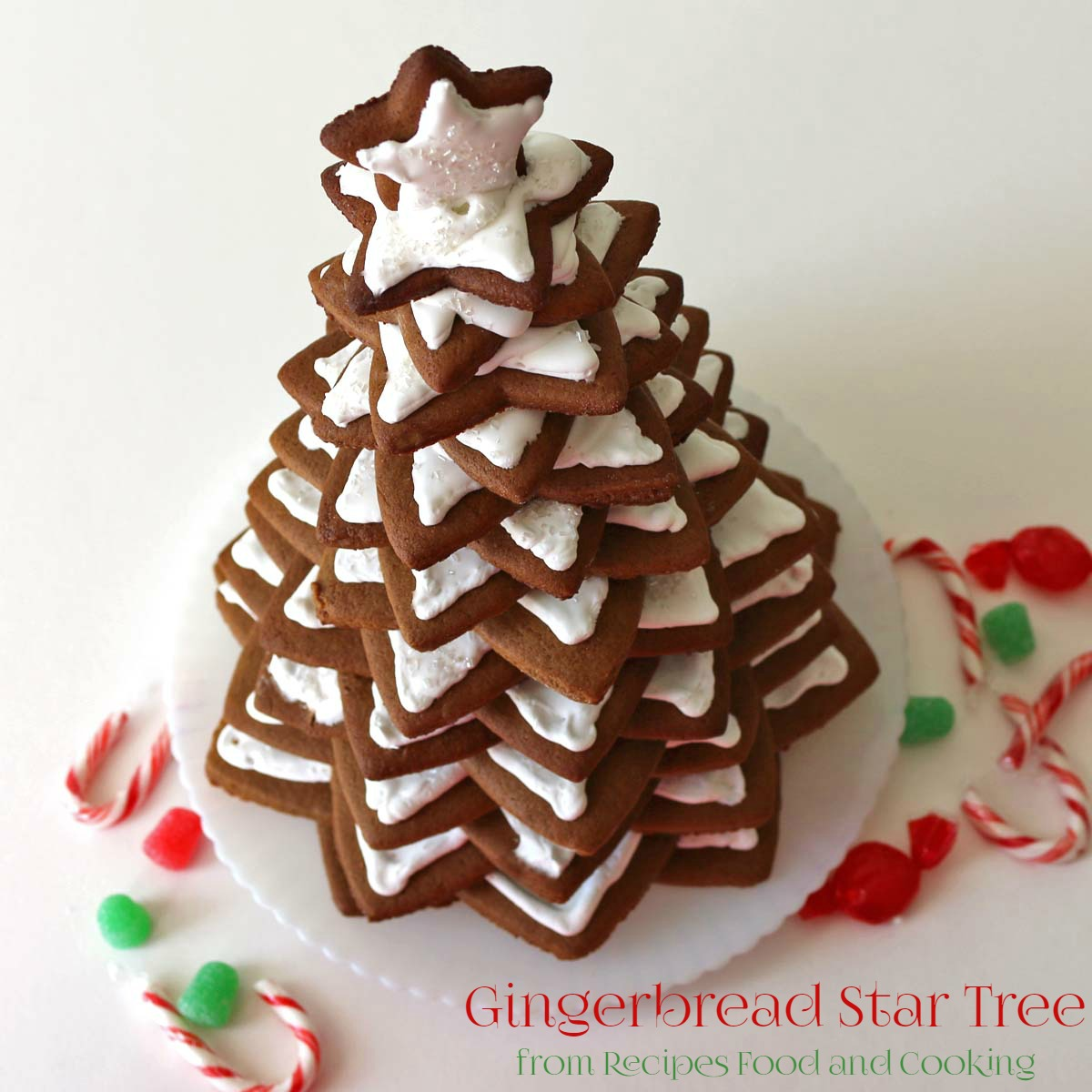 Gingerbread christmas tree recipes food and cooking gingerbread christmas tree forumfinder Images