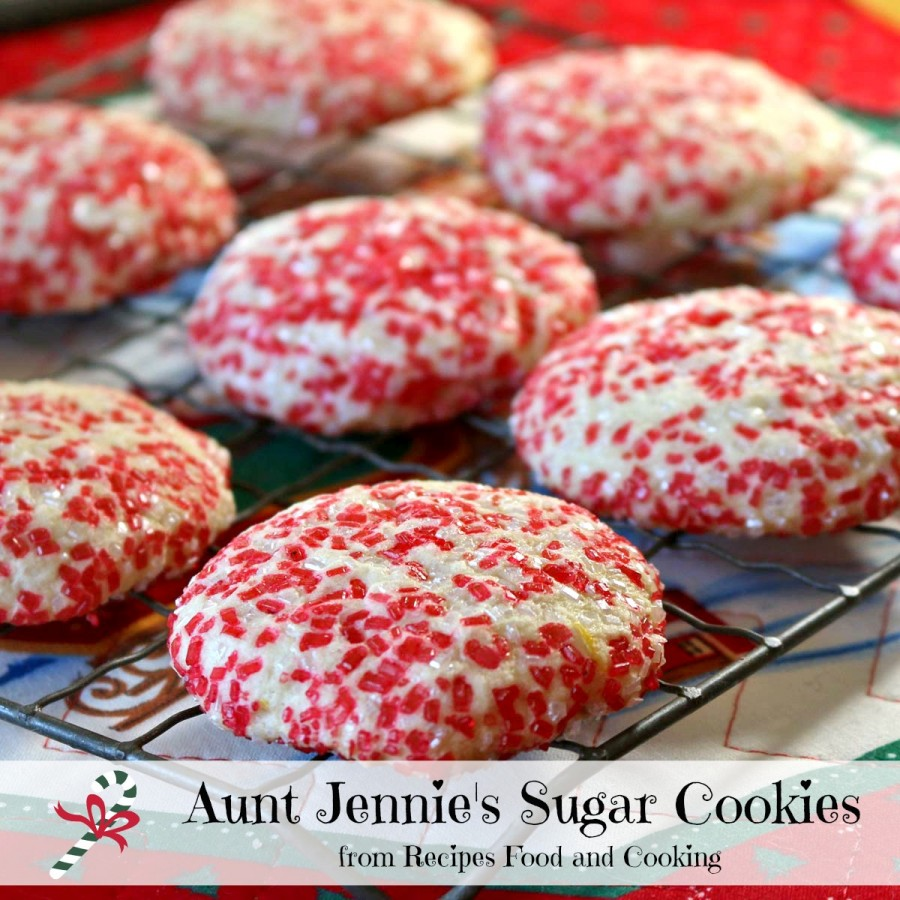 Aunt Jennie's Sugar Cookies