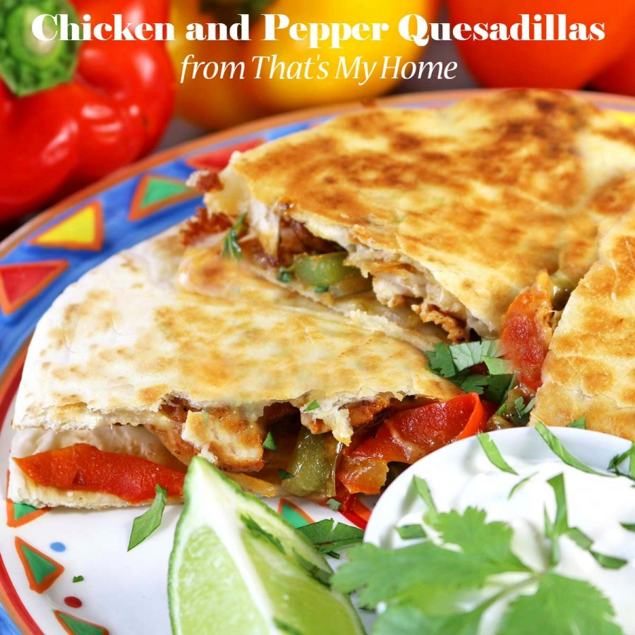Quesadillas with Peppers