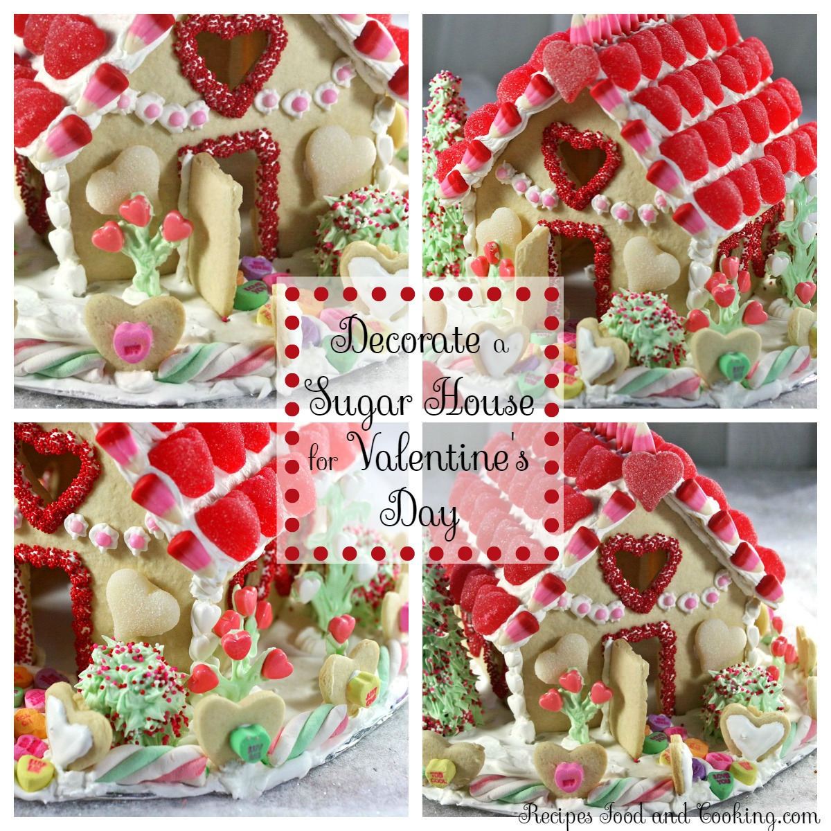Make a Sugar House for Valentine's Day