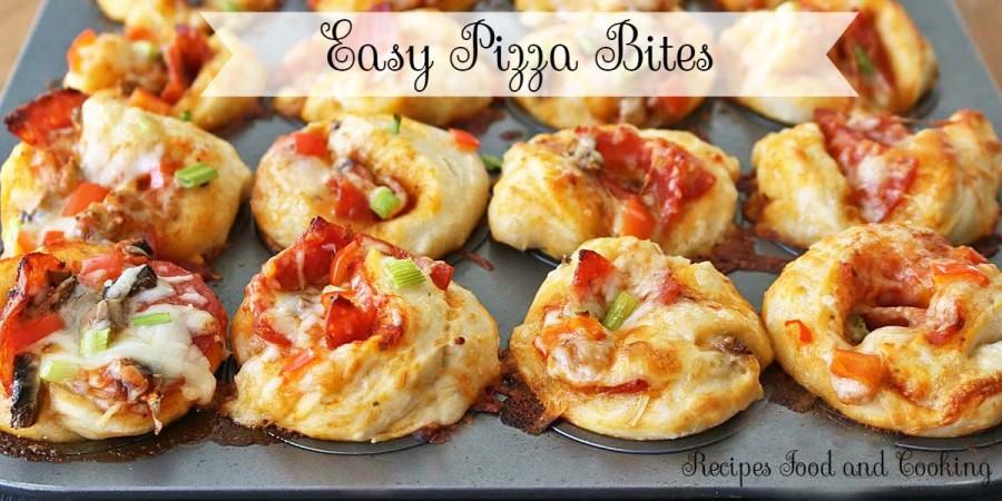Easy Pizza Bites