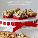 Red Velvet 7 Layer Bars