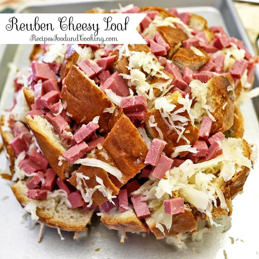 Reuben Cheesy Loaf