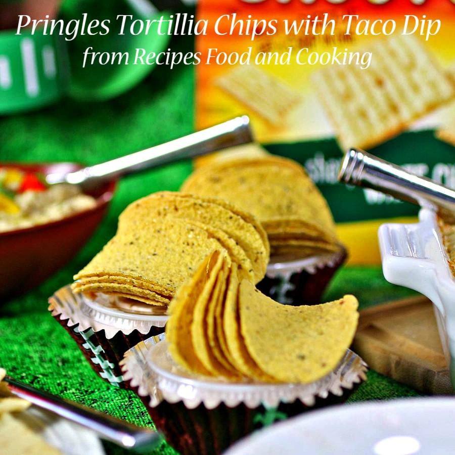 dip and tortilla chips