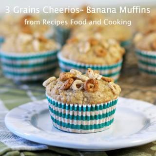 3 Grains Cheerios™ Banana Muffins