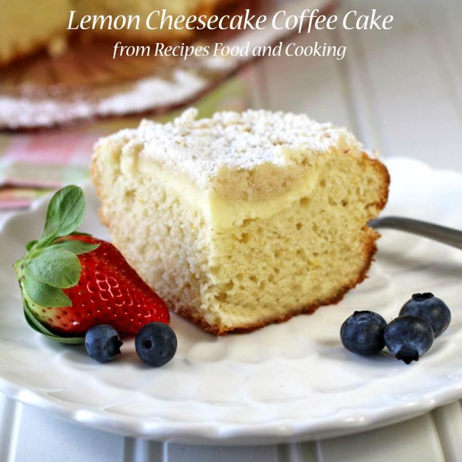 Lemon Yogurt Coffee Cake