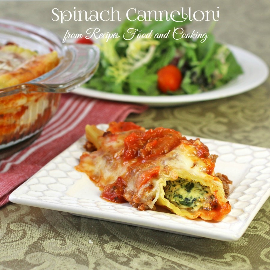 how to make manicotti filling