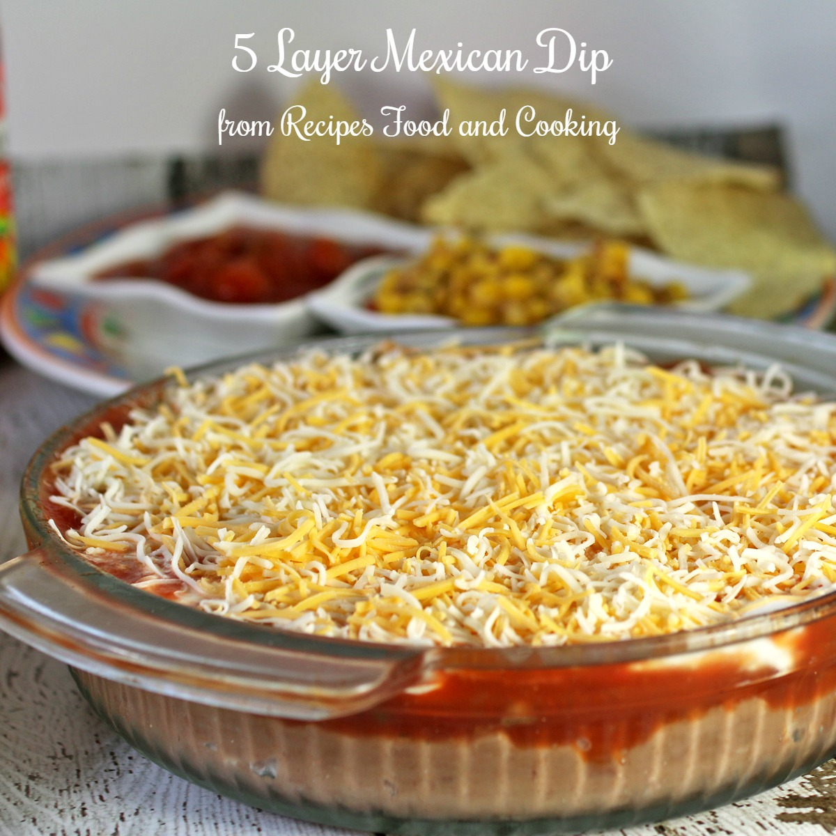 Layer Mexican Dip - Recipes Food and Cooking