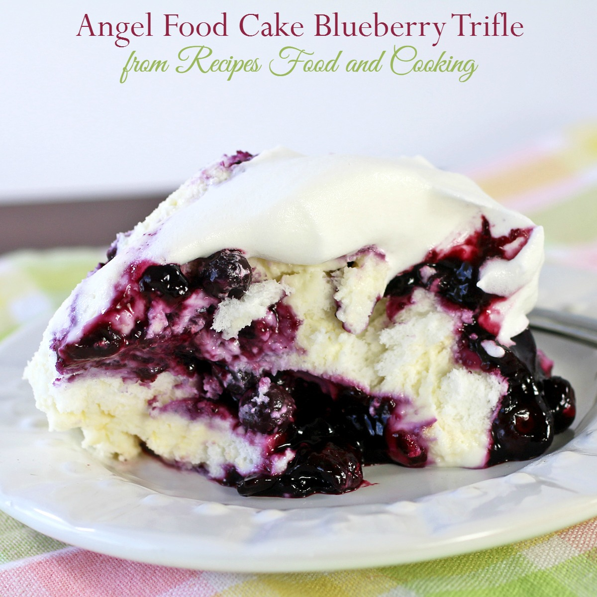Angel food cake blueberry trifle recipes food and cooking forumfinder Images