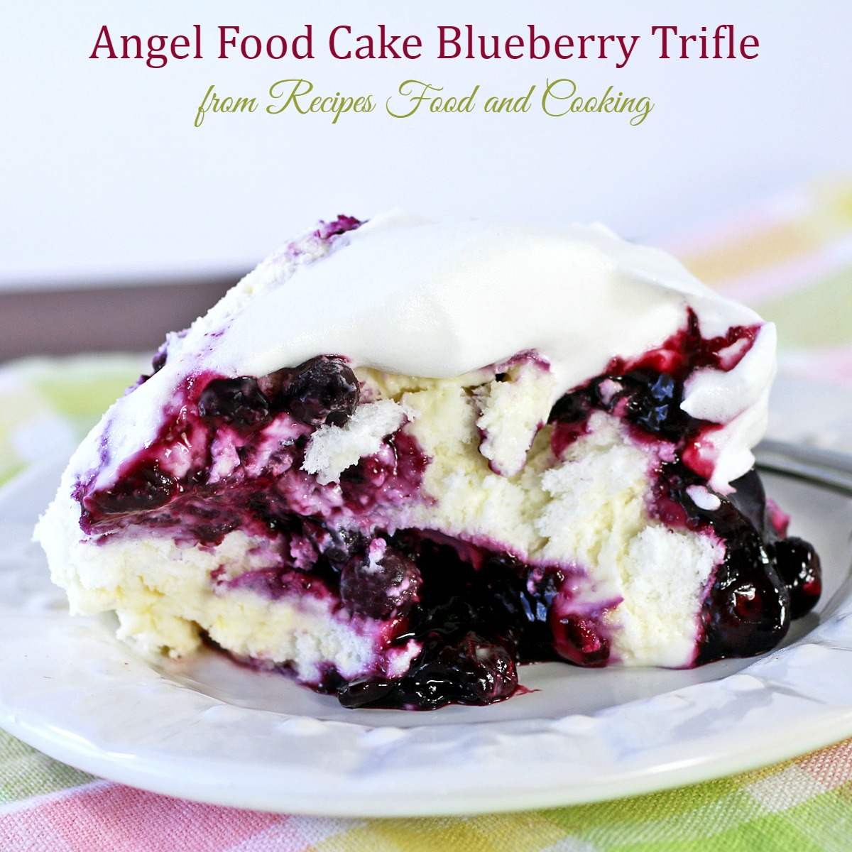 Raspberry Angel Food Cake Recipe
