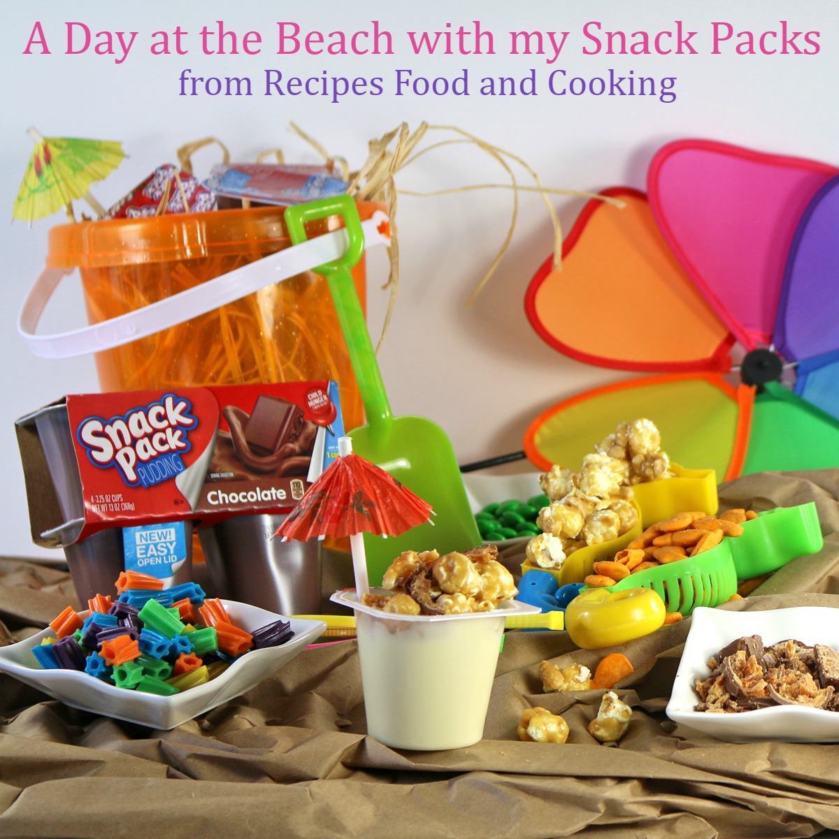 Have a Snack Pack Day at the Beach