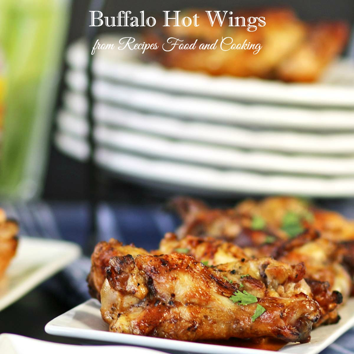 Buffalo Cauliflower and Hot Wings
