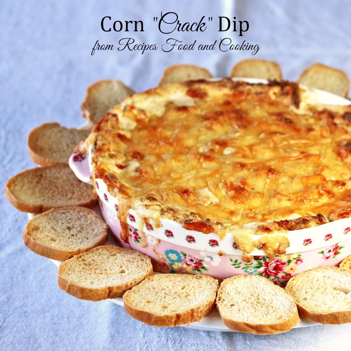 """Corn """"Crack"""" Dip"""