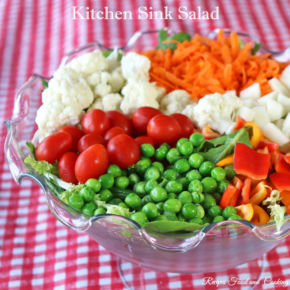 Kitchen Sink Salad
