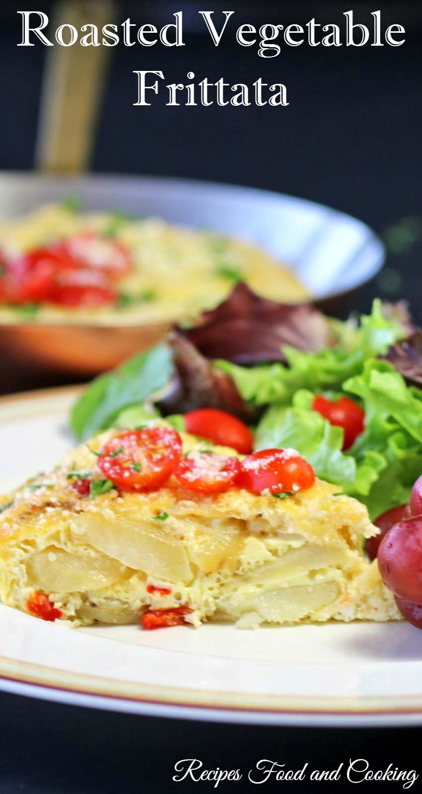 Roasted Vegetable Frittata #WeekdaySupper - Recipes Food ...