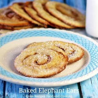 Baked Elephant Ears