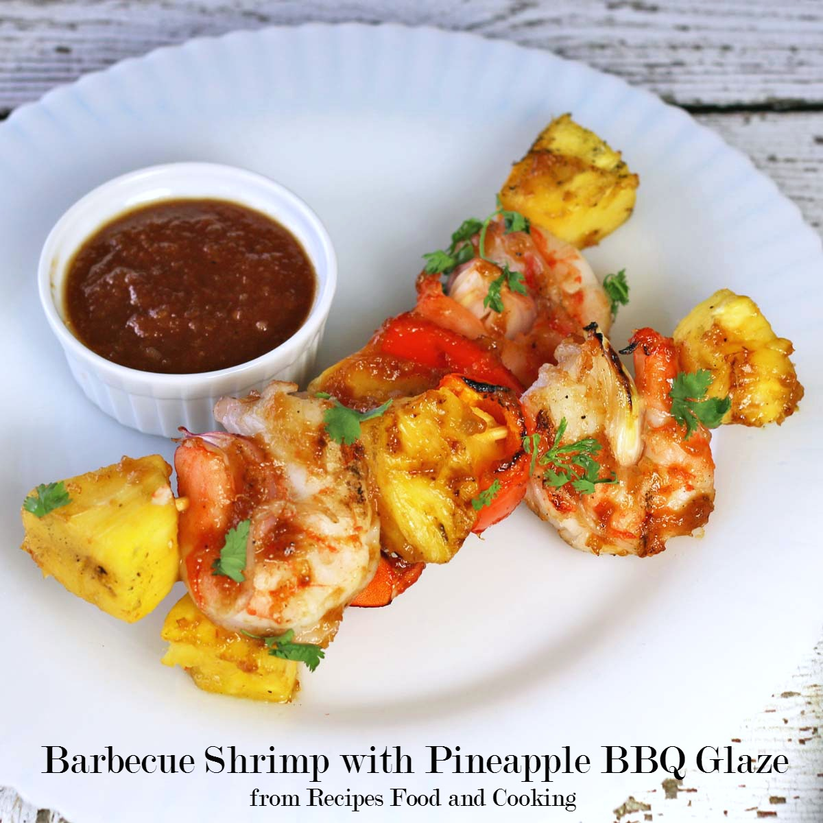 Barbecue Shrimp with Pineapple BBQ Glaze #WeekdaySupper - Recipes Food ...