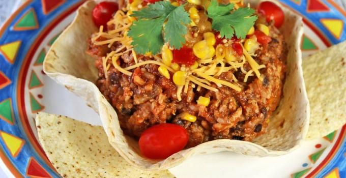 One Pot Burrito Bowl #WeekdaySupper