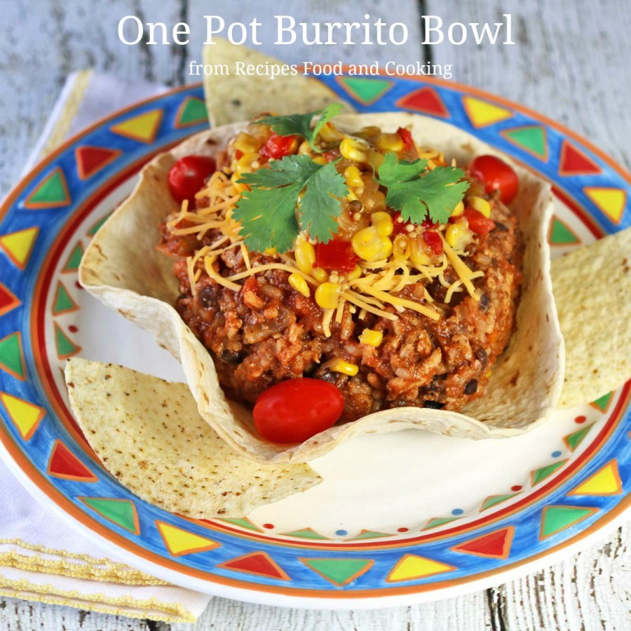 One Pot Burrito Bowl