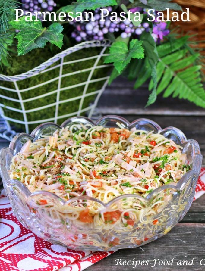 Parmesan Pasta Salad