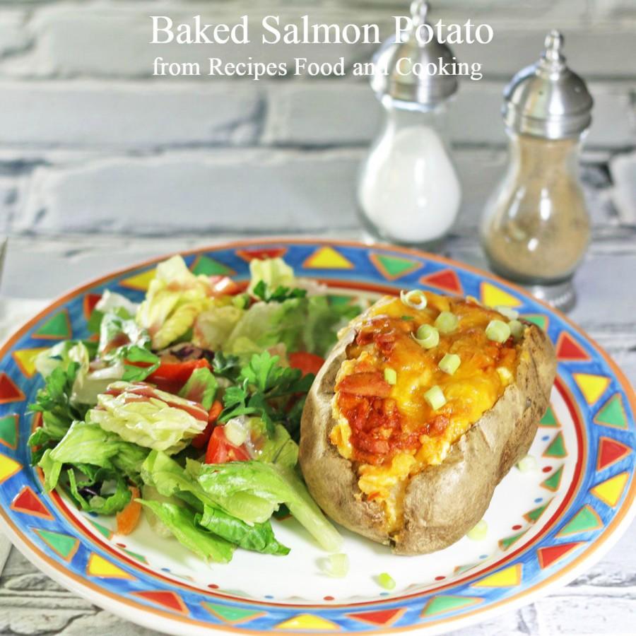 Baked Salmon Potato
