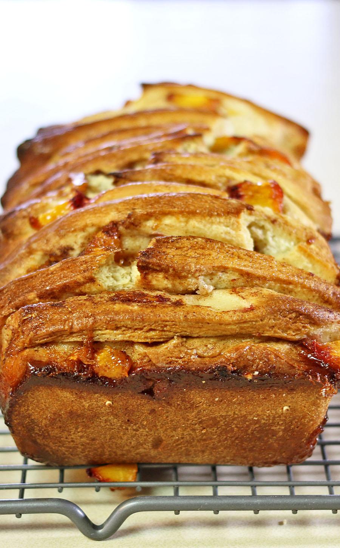 Peach Pull Apart Bread