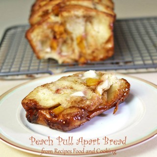 Peach Pull Apart Bread
