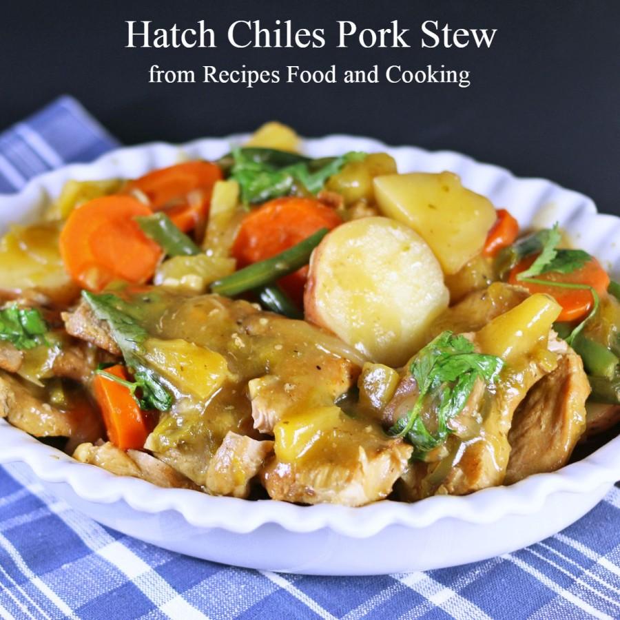 Hatch Chiles Pork Stew