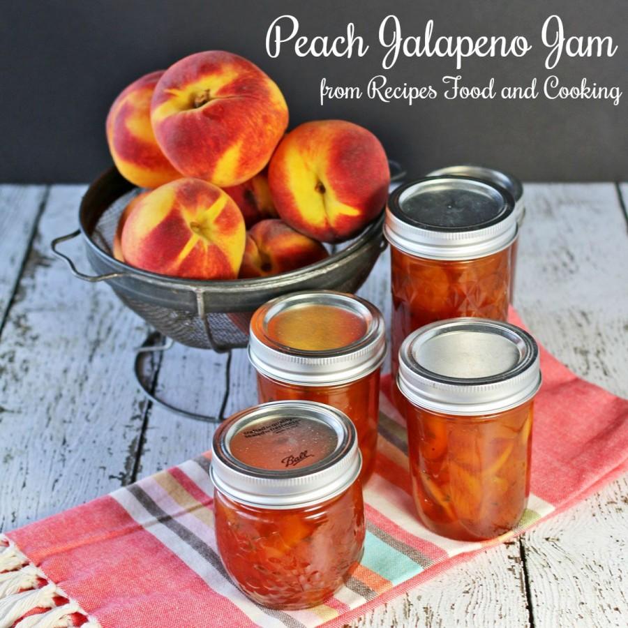 Peach Jalapeno Jam