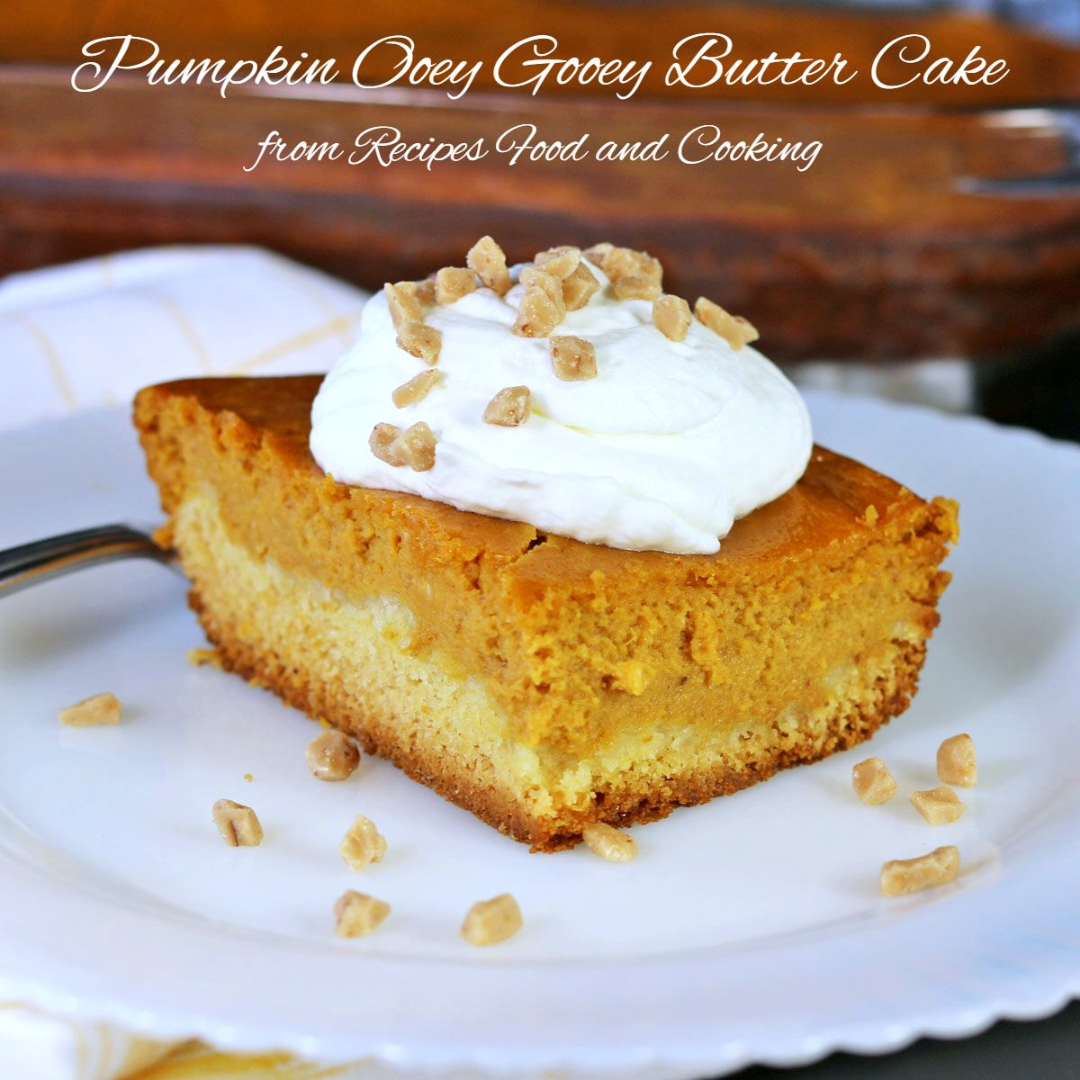 Pumpkin Butter Cake Pinterest