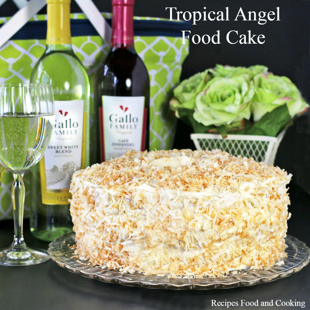 Angel Cake How Many Layers